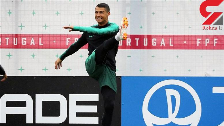 پیش بینی رونالدو از دو تیم صعود کننده گروه مرگ جام جهانی +عکس