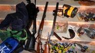 دستگیری 4 شکارچی متخلف در مناطق مرزی گلستان