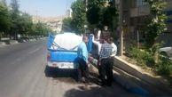 2 خودرو متخلف آب فروش در دماوند توقیف شدند