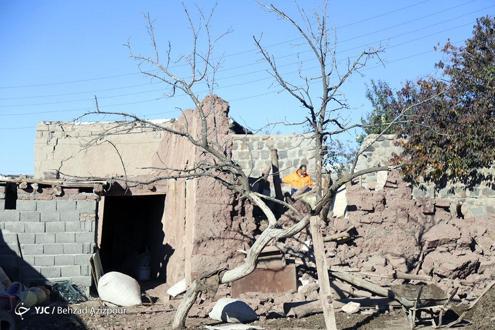 زاویههای دیده نشده از خسارات زلزله در آذربایجان شرقی + عکس