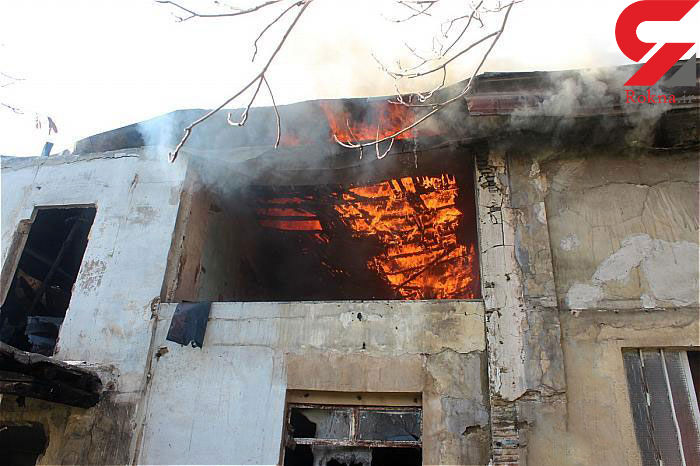آتش سوزی وحشتناک در قلب بازار لاستیک تهران + عکس ها