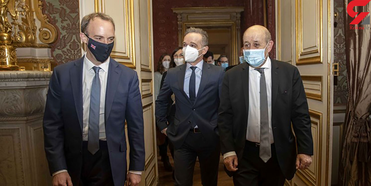 جلسه سه وزیر اروپایی درباره توافق هسته ای ایران