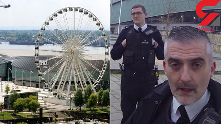 دستگیری جوان ماجراجو در شهربازی+ عکس
