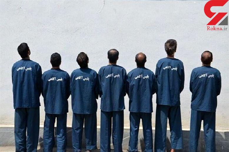 این7 مرد خبیث به خانه باغ های شاهین دژ حمله می کردند +عکس