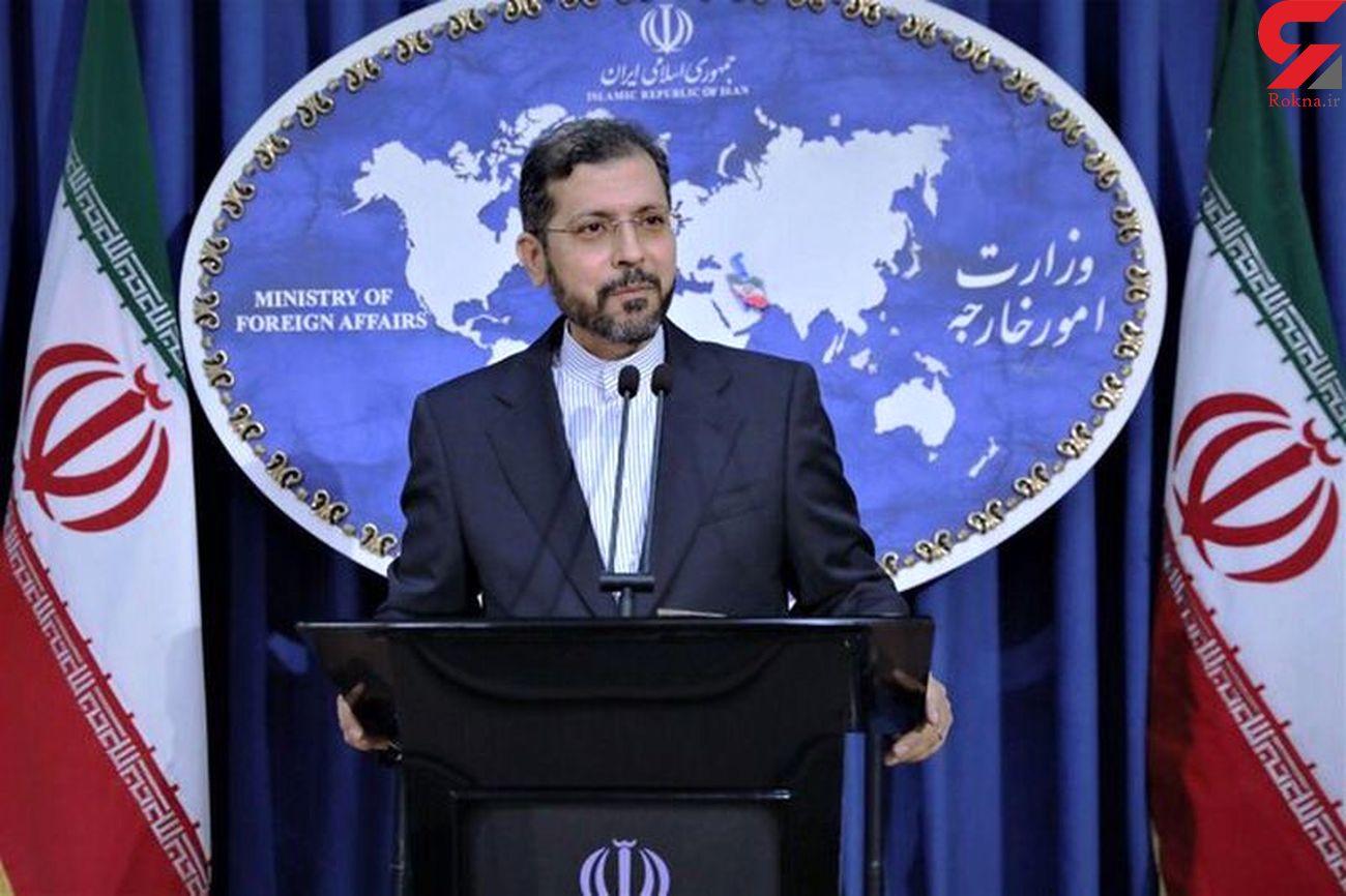 پاسخ سخنگوی وزارت امور خارجه به توییت اخیر پامپئو علیه ایران