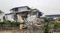 تخریب ۲۴ ویلای غیرمجاز در شهرستان نور