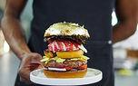 همبرگر از جنس طلا + فیلم