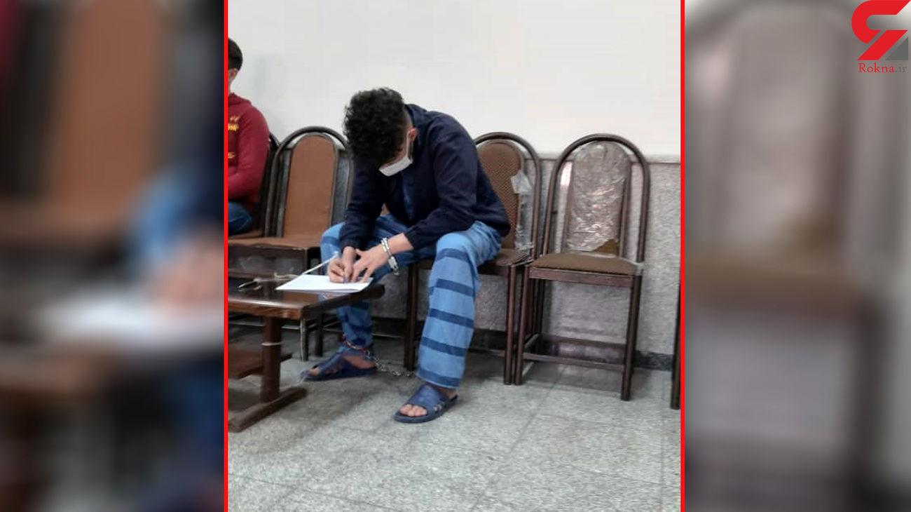اعتراف دروغ به قتل جوان خواب آلود در تهران + عکس