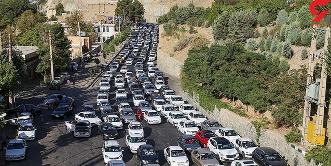 ترافیک سنگین در محور هراز/کندوان 4 روز یک طرفه می شود