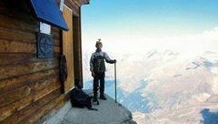 خانهای روی خطرناکترین قله جهان +عکس