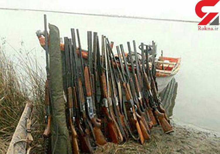 دستگیری 37 شکارچی متخلف در مازندران