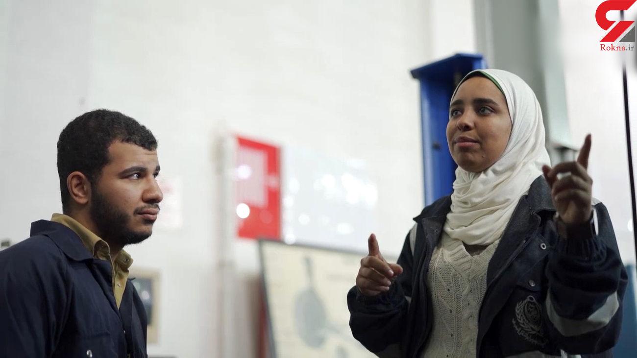 نخستین مربی زن مکانیک در مصر + فیلم