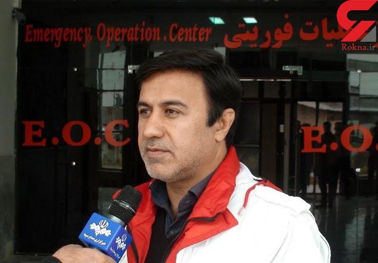 امدادرسانی هلال احمر به ۱۶۳ نفر در ۲۴ ساعت گذشته