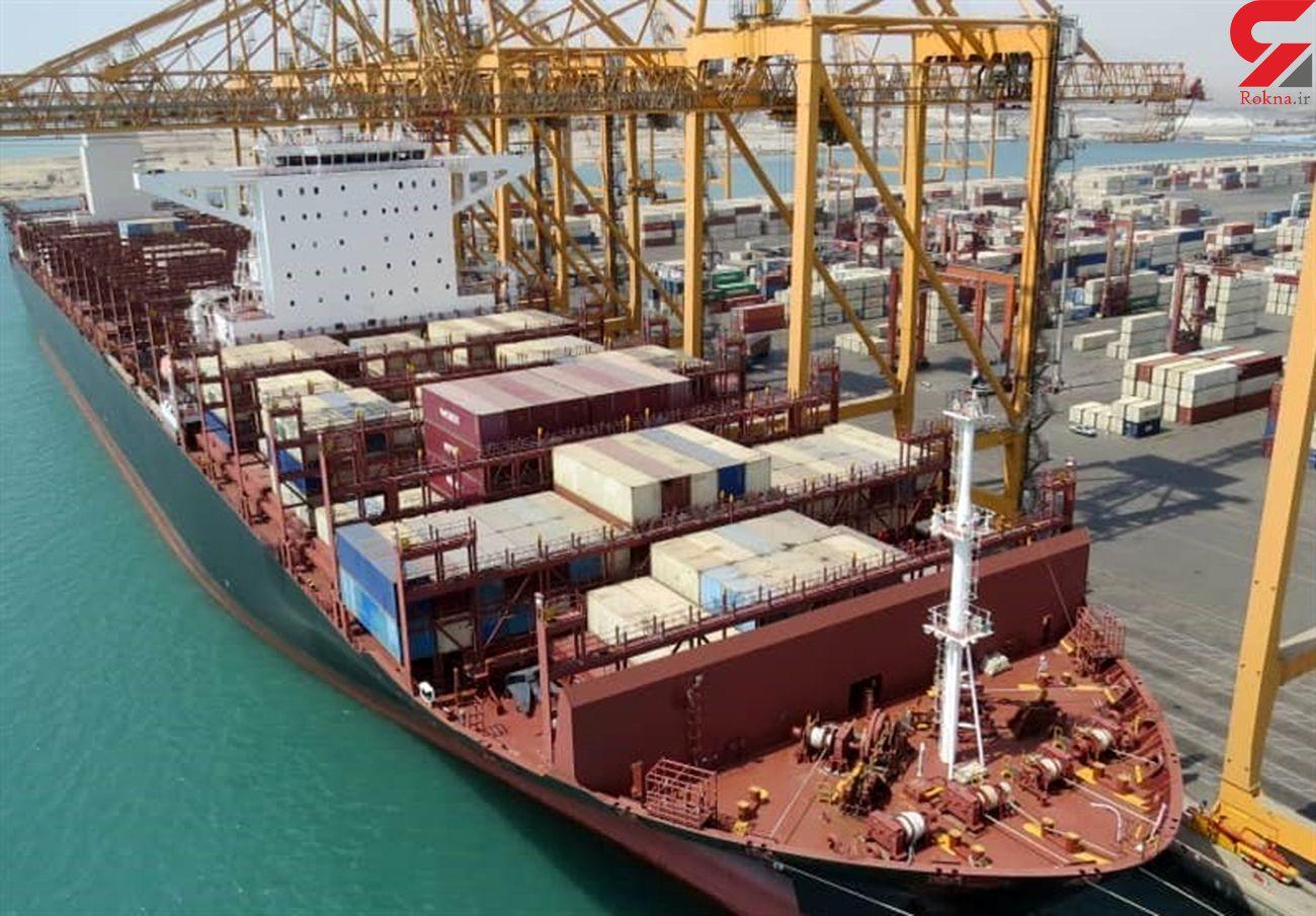 صادرات ۲۲۲ هزار کانتینر کالا از بزرگترین بندر تجاری ایران