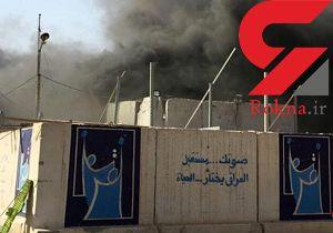 آتشسوزی در انبار صندوقهای رأی انتخابات پارلمانی عراق مهار شد