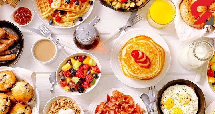 4 مدل صبحانه برای خوش اندام ها