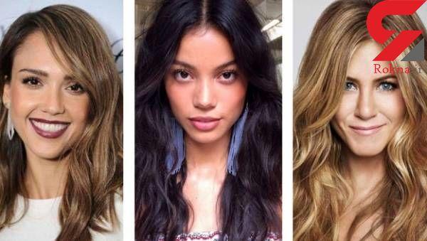 به پوست های تیره و روشن چه رنگ مویی می آید؟