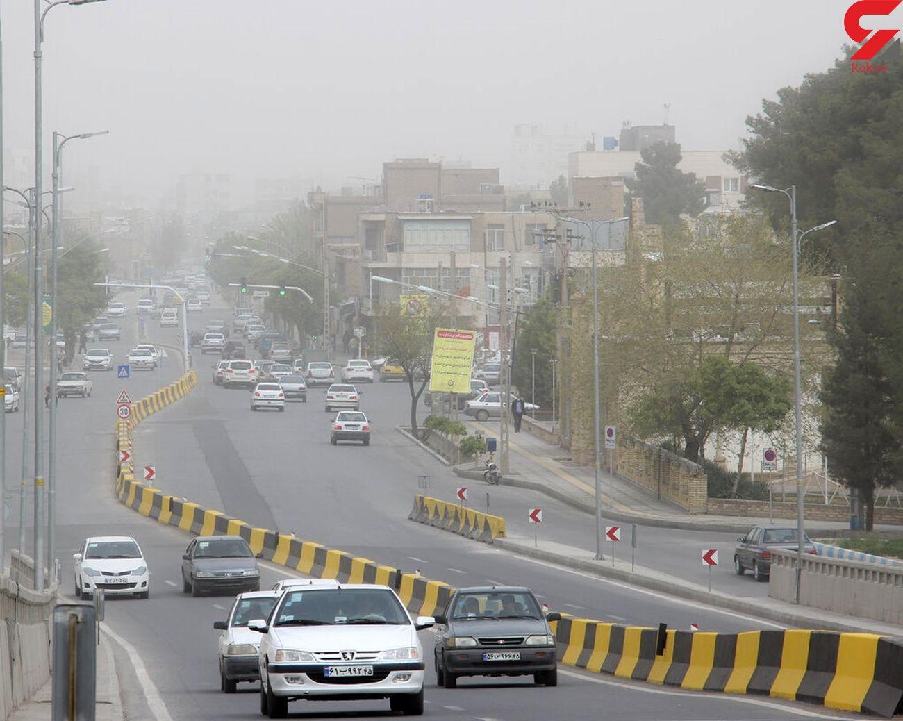 اصفهان در محاصره ریزگردها / مردم در خانه بمانند