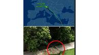 سقوط وحشتناک یک مسافر از هواپیما / جزییاتی جدید+ عکس محل سقوط