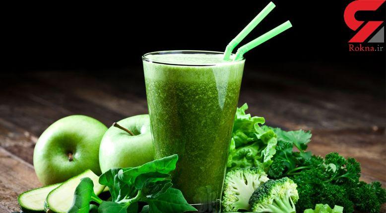 نوشیدنی های  سبز رنگ برای رسیدن به آرزوی لاغری