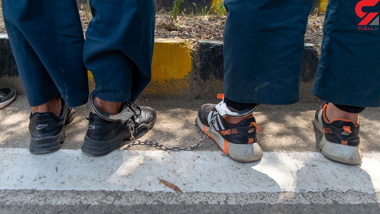 باند سارقان خودرو در ساری دستگیر شدند