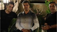 «هادی ساعی» در پشت صحنه «ساخت ایران 2» +عکس