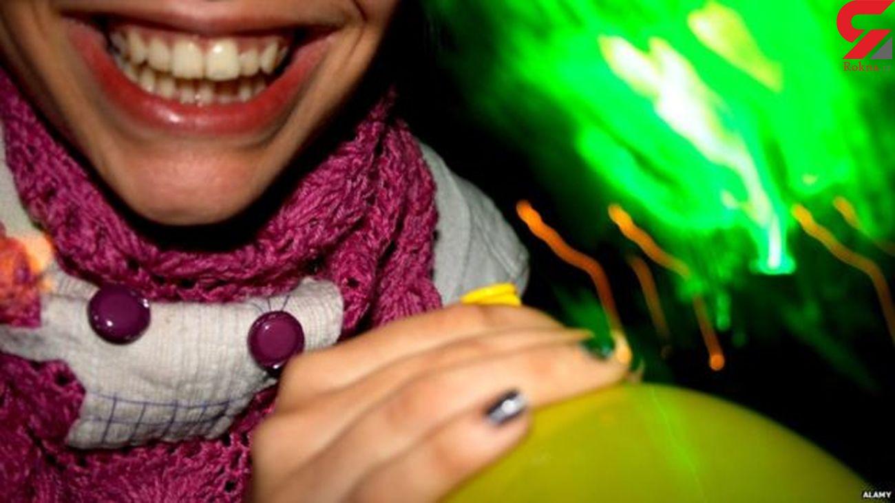 گاز خنده /  راهکار پژوهشگران فنلاندی برای نجات از غم و افسردگی !