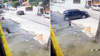 ببینید / سهل انگاری  پلیس خصوصی دو کودک را تا نزدیکی مرگ برد! +فیلم و عکس