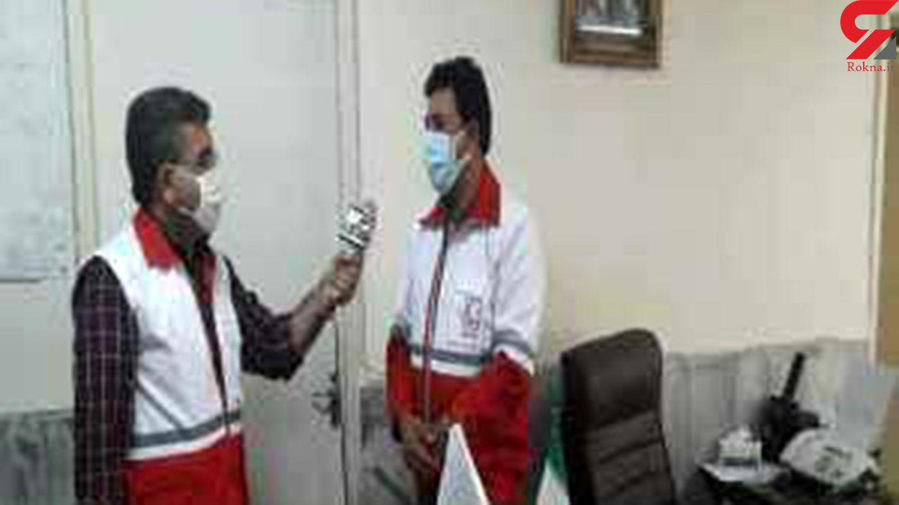 اهدای خون توسط مردم هشترود به همنوعان و نیازمندان