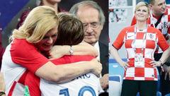 آغوش رئیس جمهور کرواسی جنسی نبود مادرانه بود / واکنش علی مطهری+ عکس
