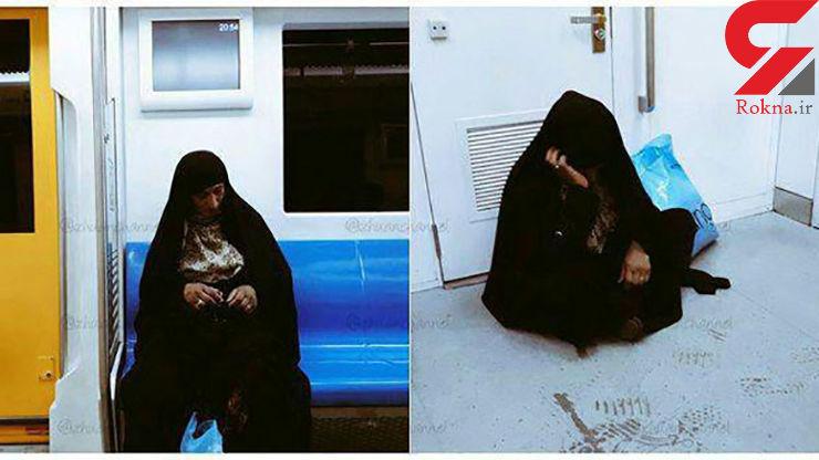 تصویر بدرفتاری ایرانی ها با یک زن افغان جنجال به پا کرد+ عکس