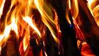 آتش سوزی در یک کارخانه تولیدی در سلماس