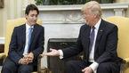 نخست وزیر کانادا حال ترامپ را گرفت! +عکس