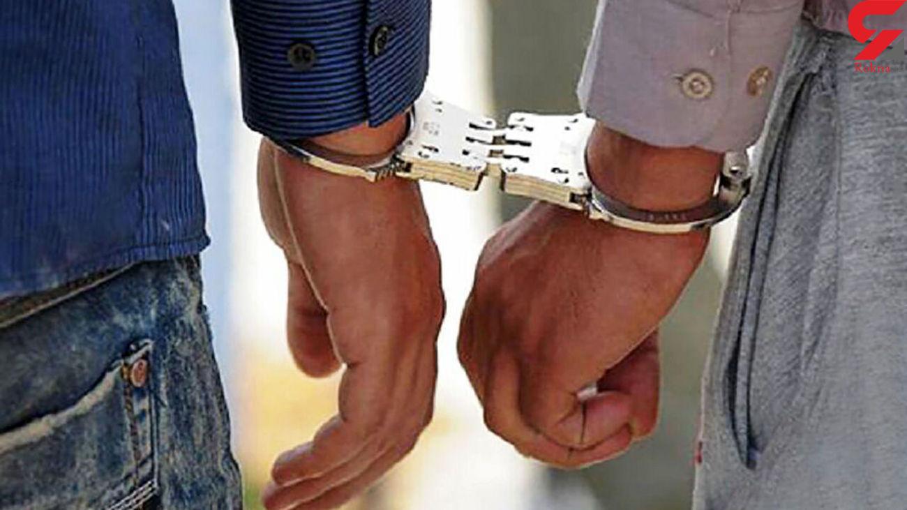 اراذل و اوباش در بهبهان دستگیر شدند