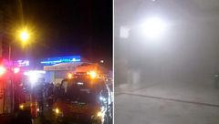 آتشسوزی مغازه کفش فروشی در زیستخاور مشهد + عکس