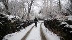 جمعه بارش برف در تهران/ بارش باران، برف و وزش باد شدید در اکثر نقاط کشور