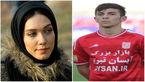 رقابت بازیگر زن با فوتبالیست معروف در برنامه تلوزیونی + عکس
