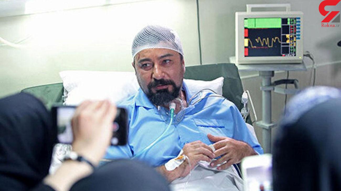 امیرحسین صدیق در بیمارستان بستری شد!+ عکس