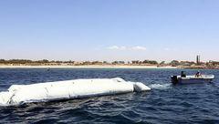 مفقود شدن ۱۷۰ مهاجر در آبهای مدیترانه