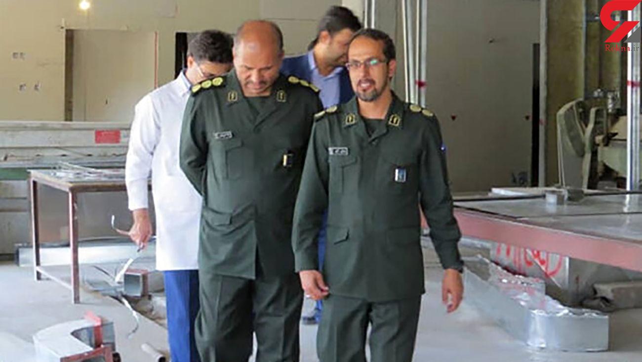 صادق رئیسی مقام ارشد سپاه در اثر ابتلا به کرونا فوت کرد + عکس