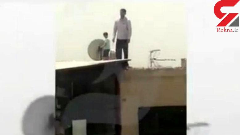 فوری/  نصاب شیطان صفت ماهواره در تهران دستگیر شد /  او پسر بچه ای را به پشت بام برده بود + عکس
