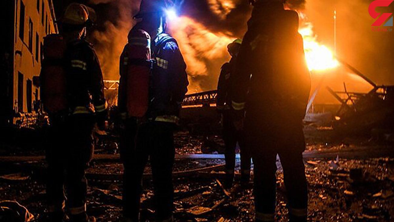 انفجار در نزدیکی هتل چین