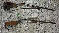 دستگیری 2 شکارچی در قزوین