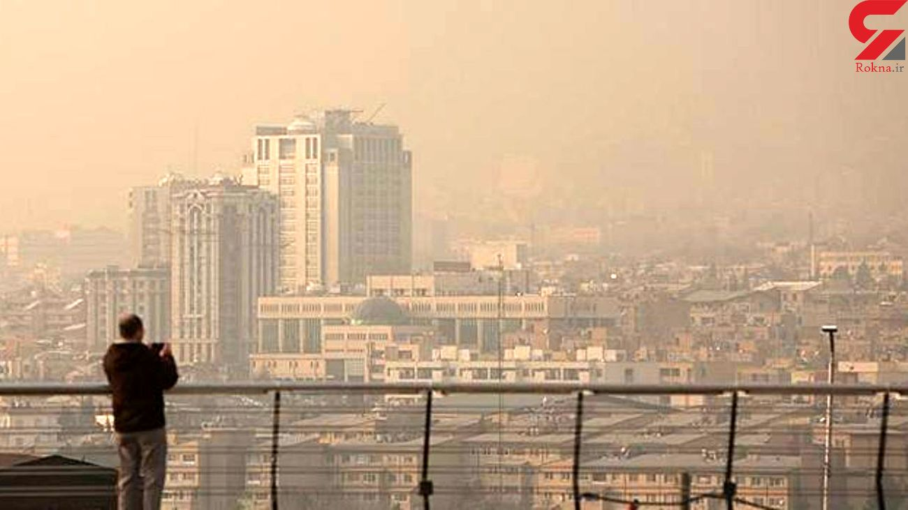 ویروس کرونا و آلودگی هوا گریبانگیر تهران