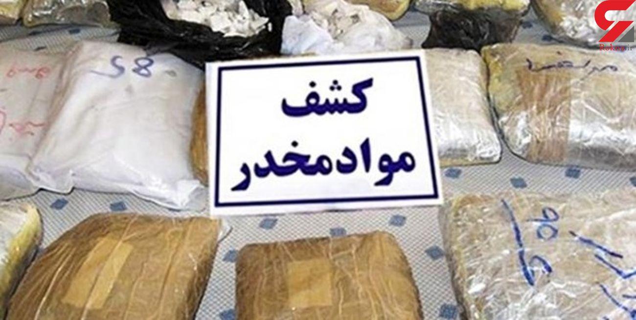 کشف 122 تن پیشساز مواد مخدر در هرمزگان توسط وزارت اطلاعات