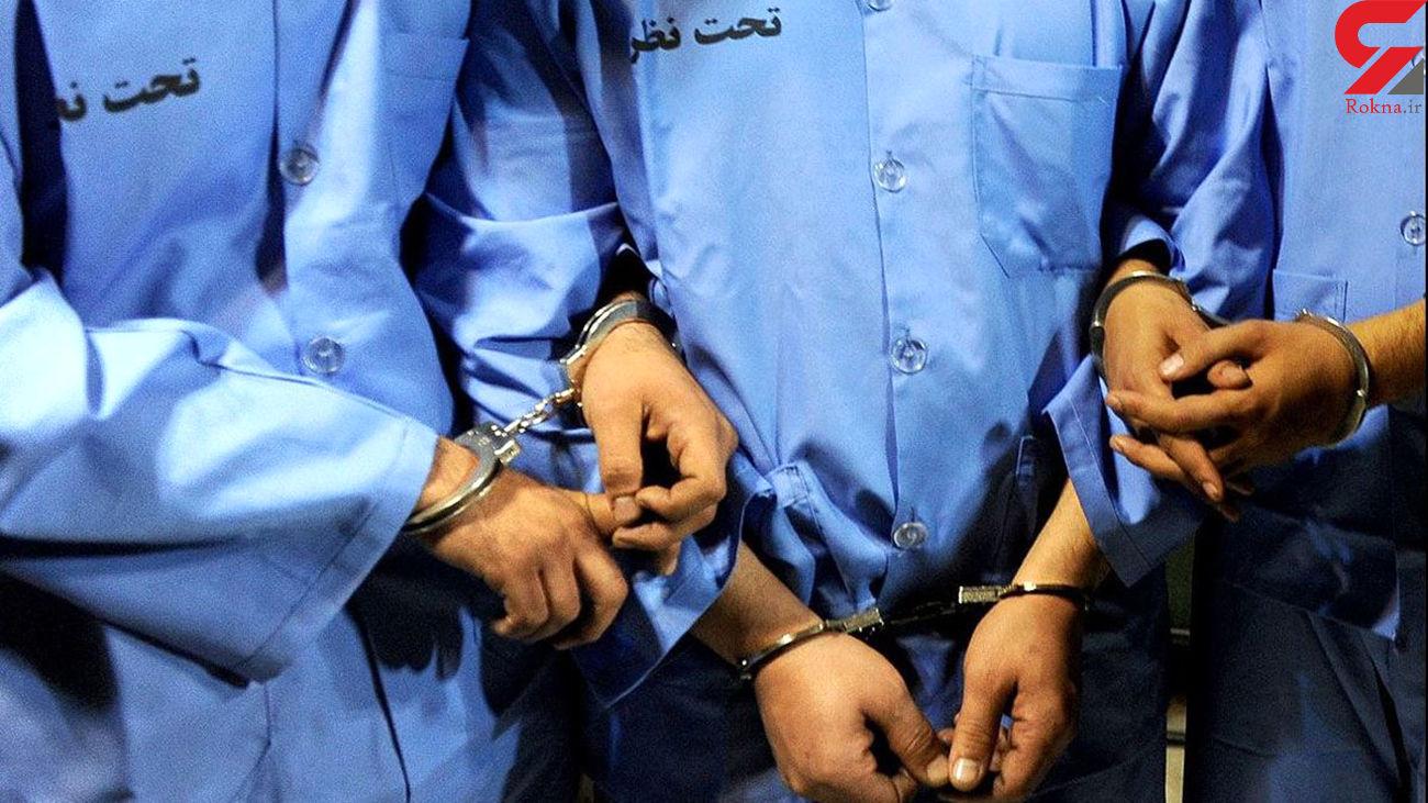 دستگیری سارقان فیوج با 22 فقره سرقت زیورآلات در هرمزگان