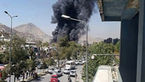 آتش سوزی در اهواز جان یک خبرنگار را گرفت