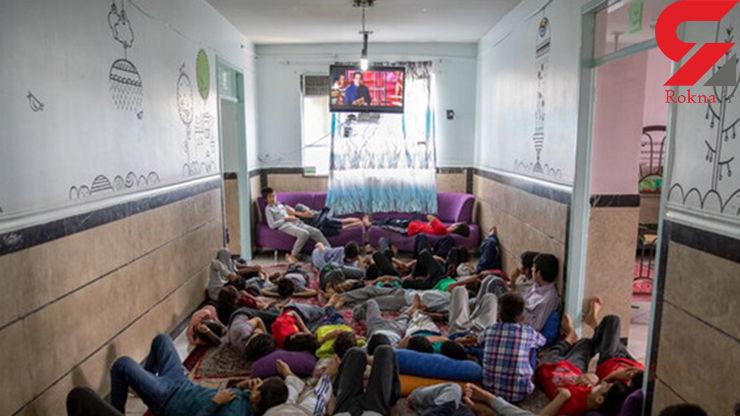 150 کودک و نوجوان در یک مکان 35 نفره!