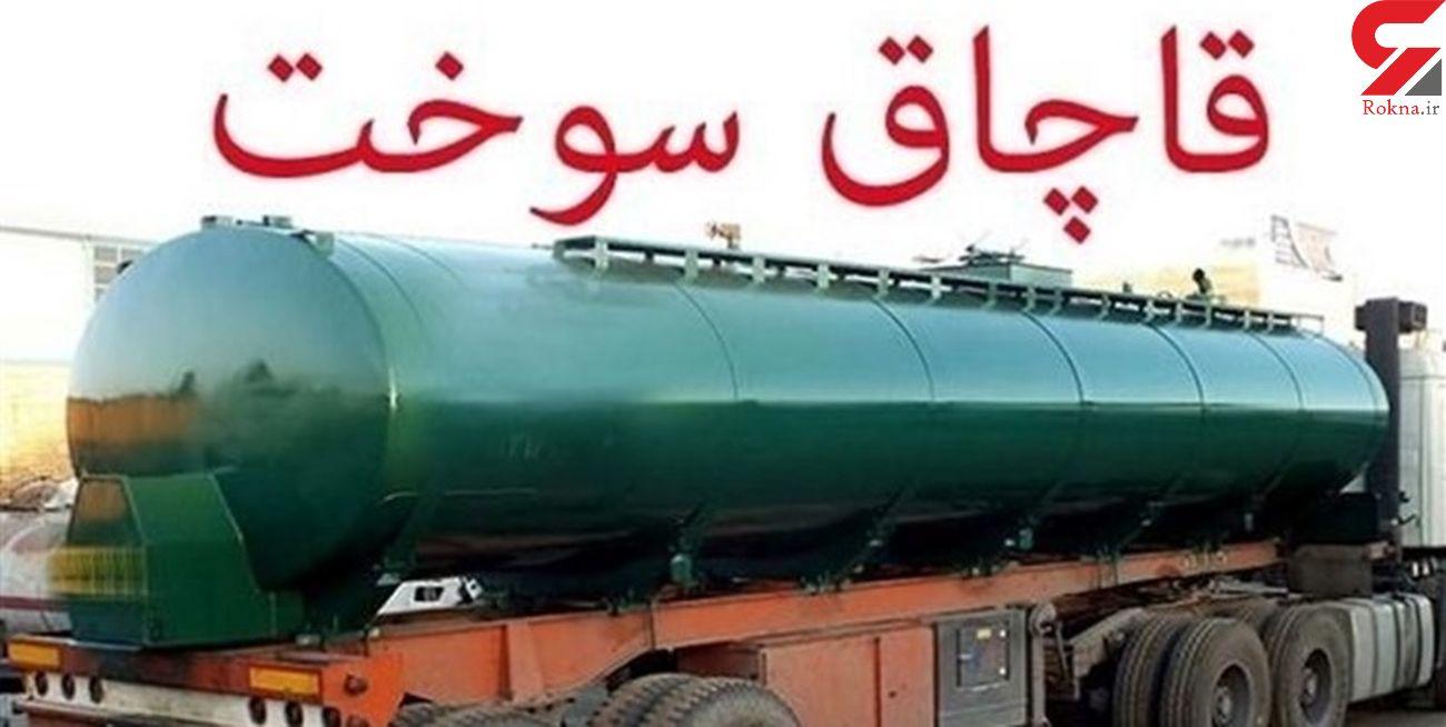 کشف 30 هزار لیتر نفت خام سرقتی در خوزستان