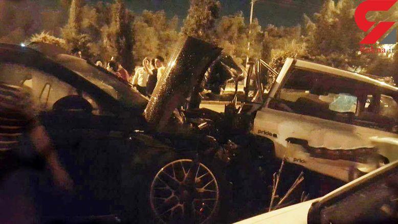 حکم راننده جنجالی پورشه سوار اصفهانی صادر شد + فیلم